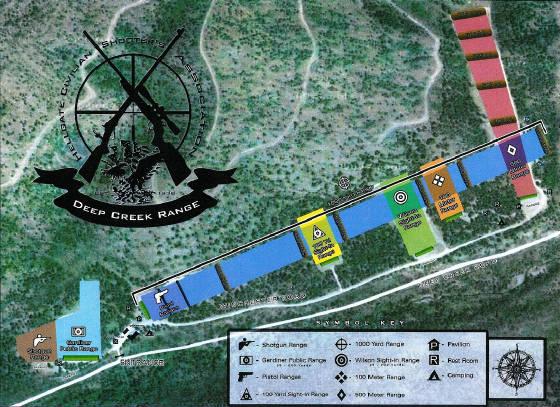 Deep Creek Florida Map.Deep Creek Range